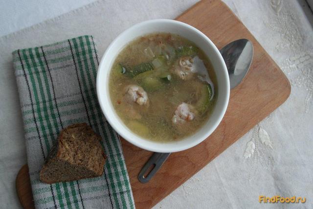 Рецепт Суп с цукини и домашней колбасой рецепт с фото