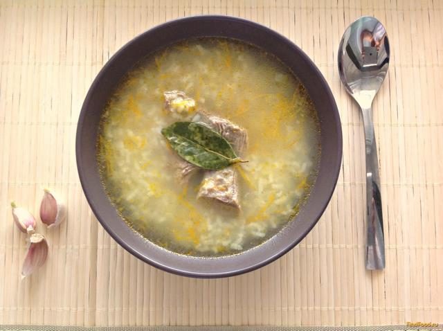 рецепт рисовый суп без картошки рецепт