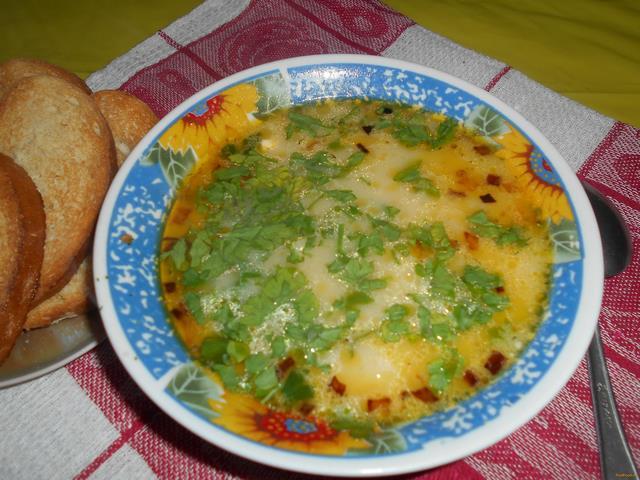 Рецепт сырного супа из муму