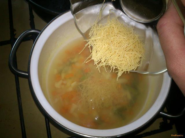 рецепт супа с вермишелью без мяса