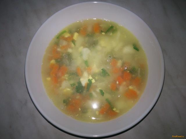 Суп щавельный с яйцом рецепт с фото