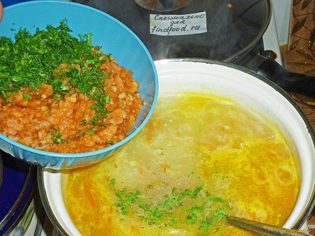 рисовый суп с капустой рецепт