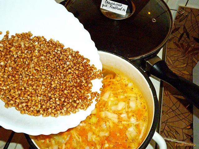 Рецепт с варенной гречкой фото пошагово