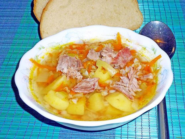 Вкусные супы со свининой рецепты фото