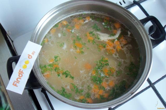 Суп из индейки с макаронами рецепт с фото 6-го шага