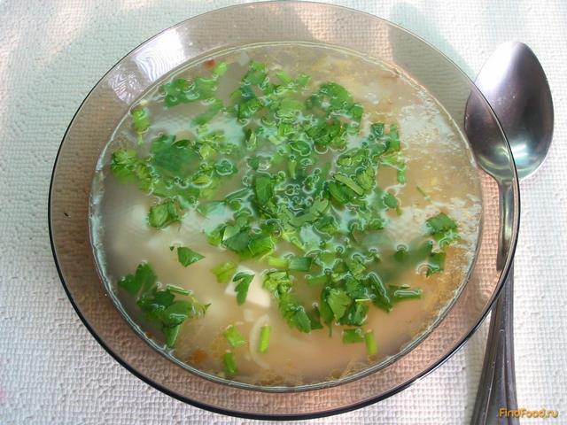луковый суп с плавленым сыром рецепт