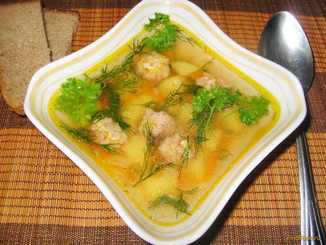 суп из фарша детский рецепт