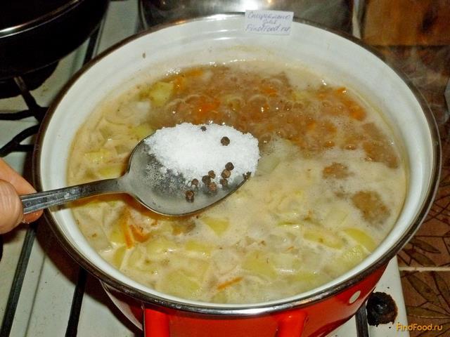 Рассольник с пшеничной крупой и сладким перцем рецепт с фото 10-го шага