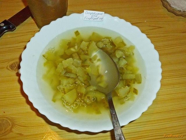 Рассольник с пшеничной крупой и сладким перцем рецепт с фото 12-го шага