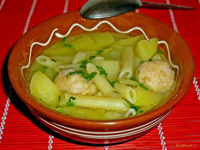 макароновый суп рецепт видео