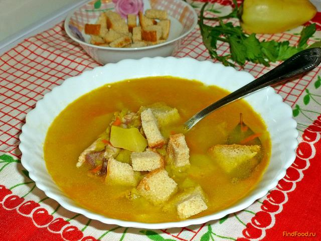 суп куриный с перцем рецепт