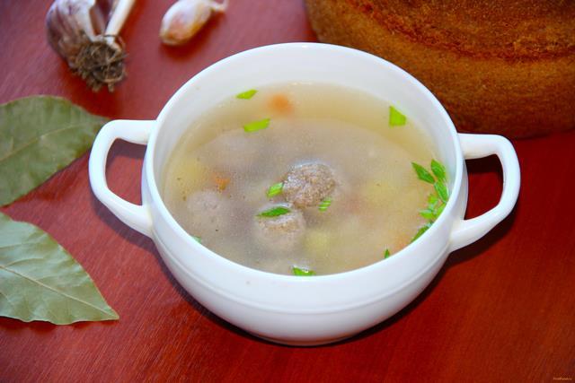 рецепт приготовления вермишелевого супа с фрикадельками