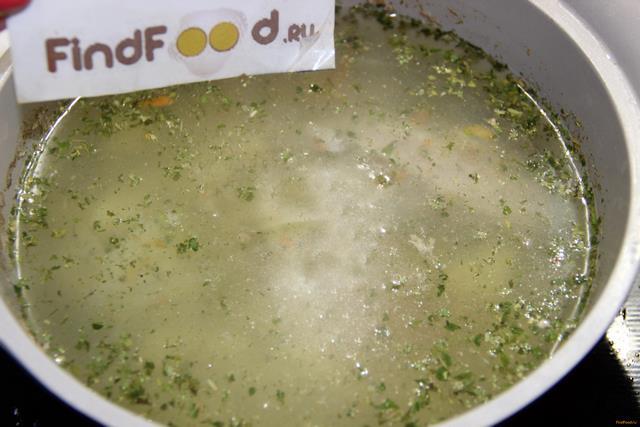 Картофельный суп с индейкой рецепт с фото 8-го шага