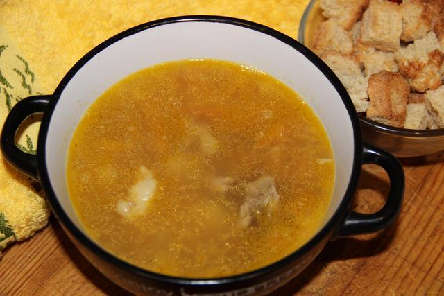 как варить суп из косточки фото рецепт