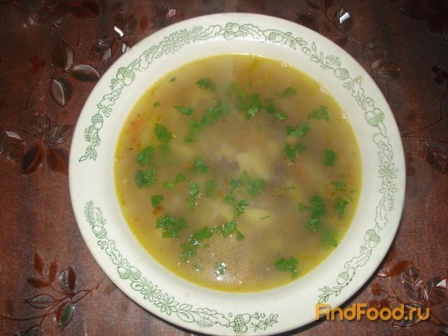 Гречневый суп с куриными сердечками рецепт с фото 7-го шага