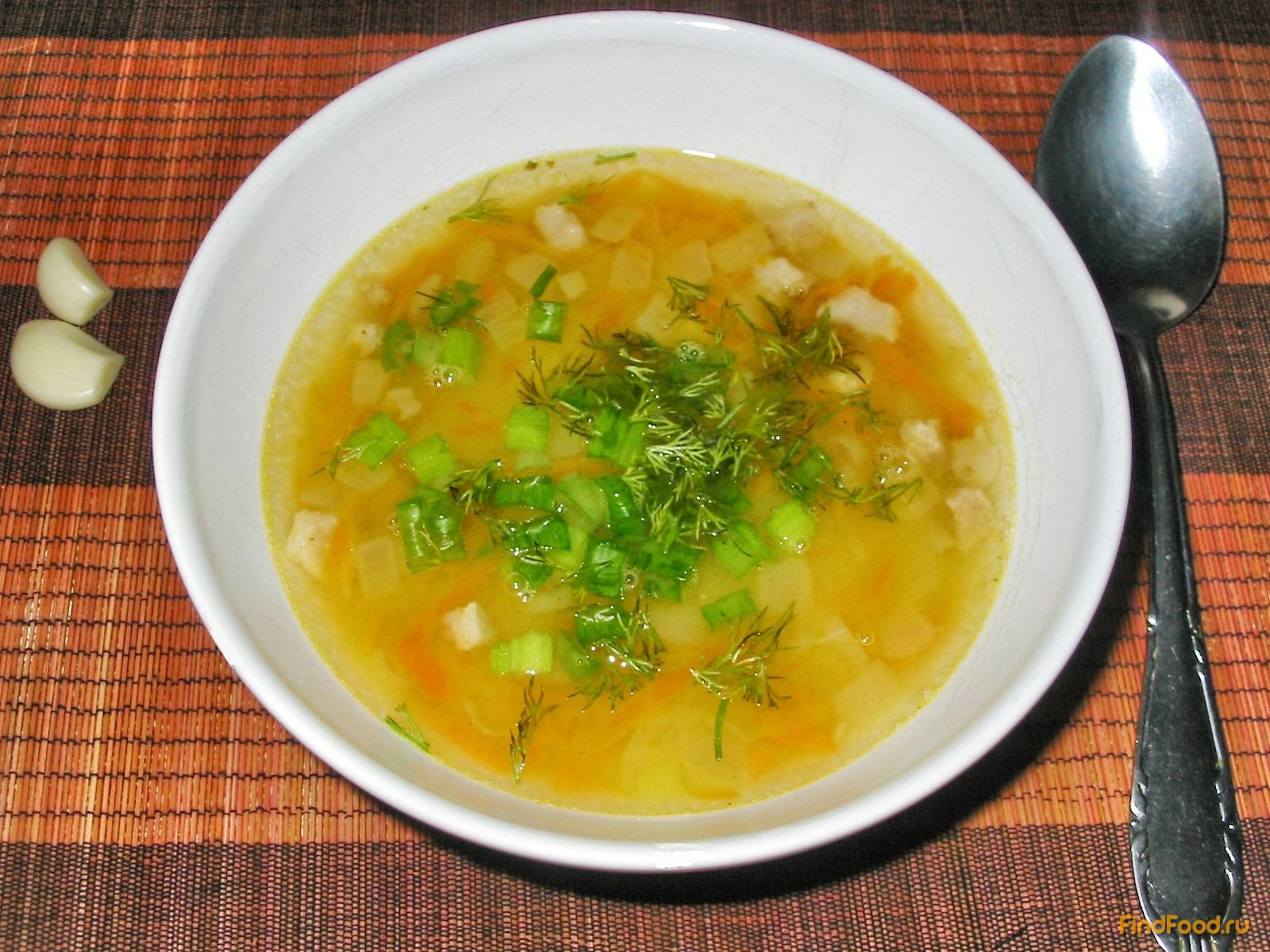 гороховый суп с ветчиной рецепт с фото