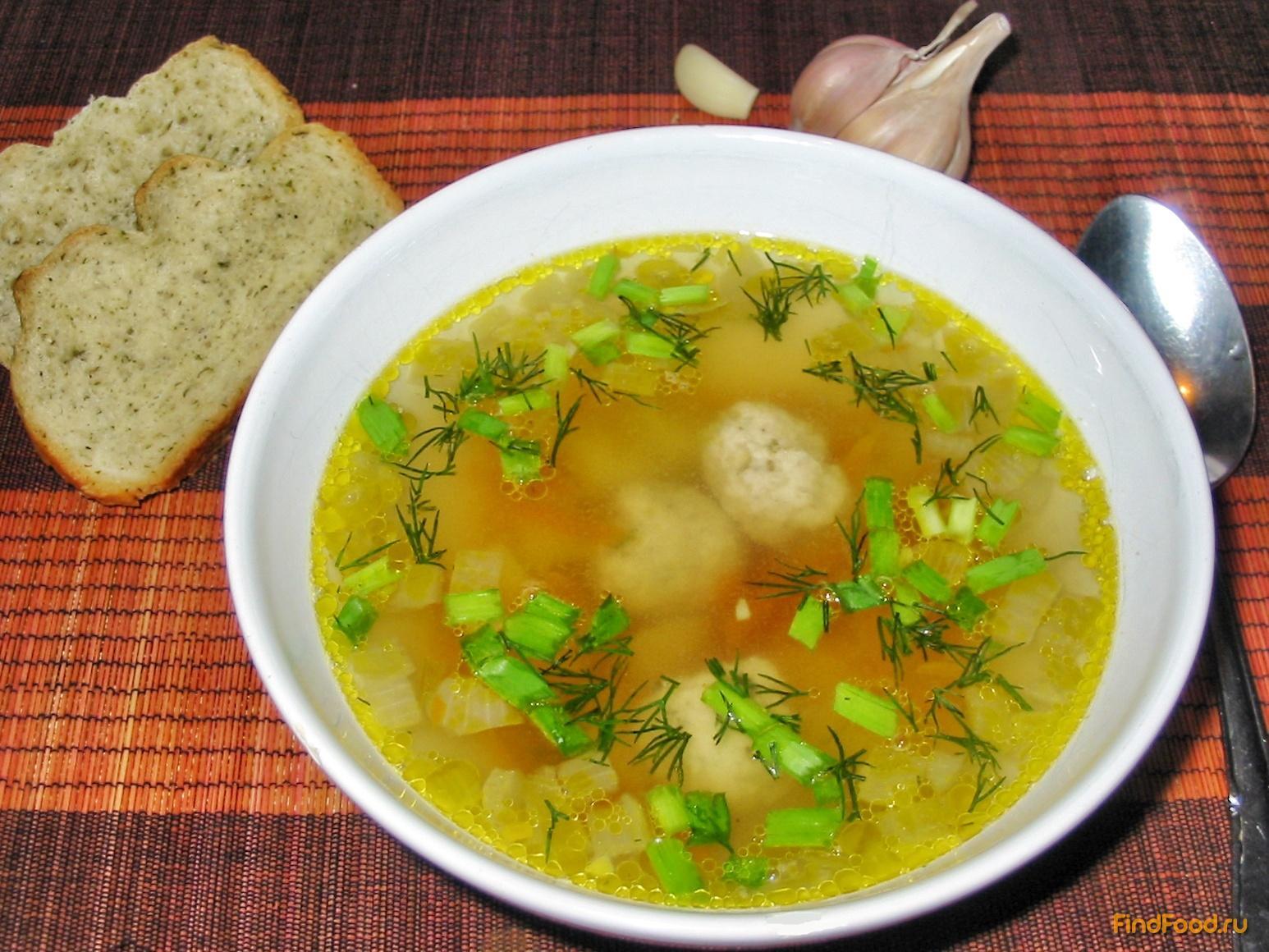 найти рецепт как готовить суп с тефтельками