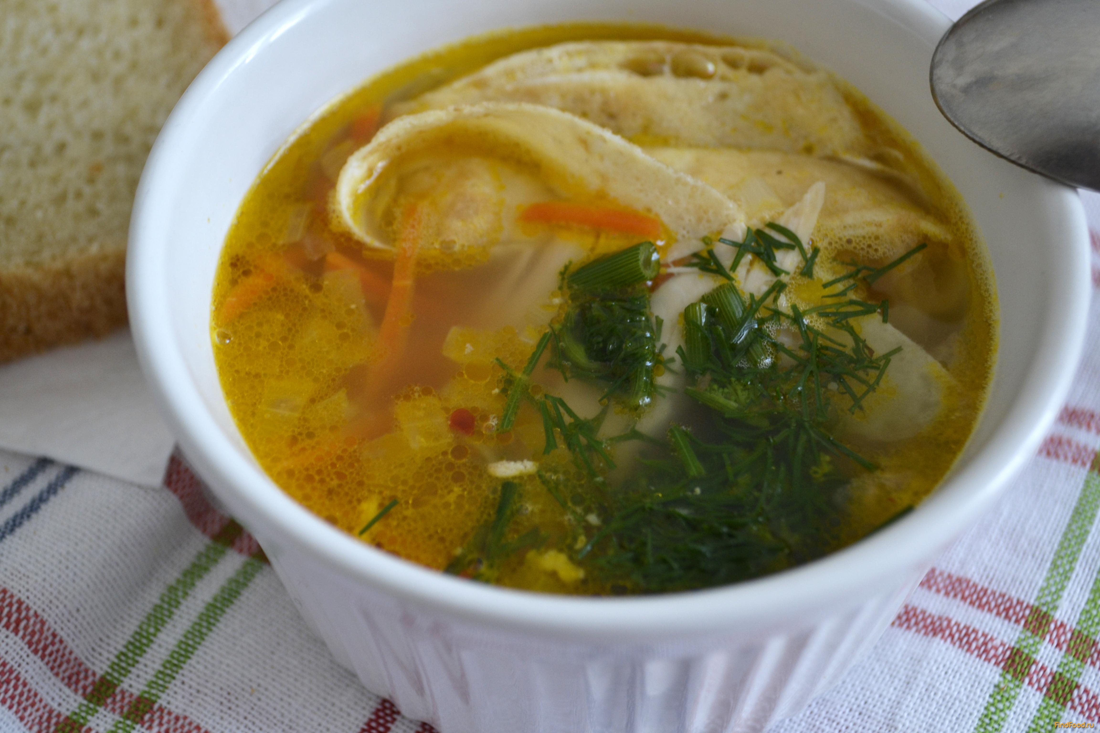 рецепт супа из гречки на курином бульоне