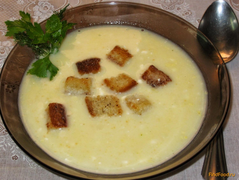 сырный суп в хлебе рецепт с фото пошагово