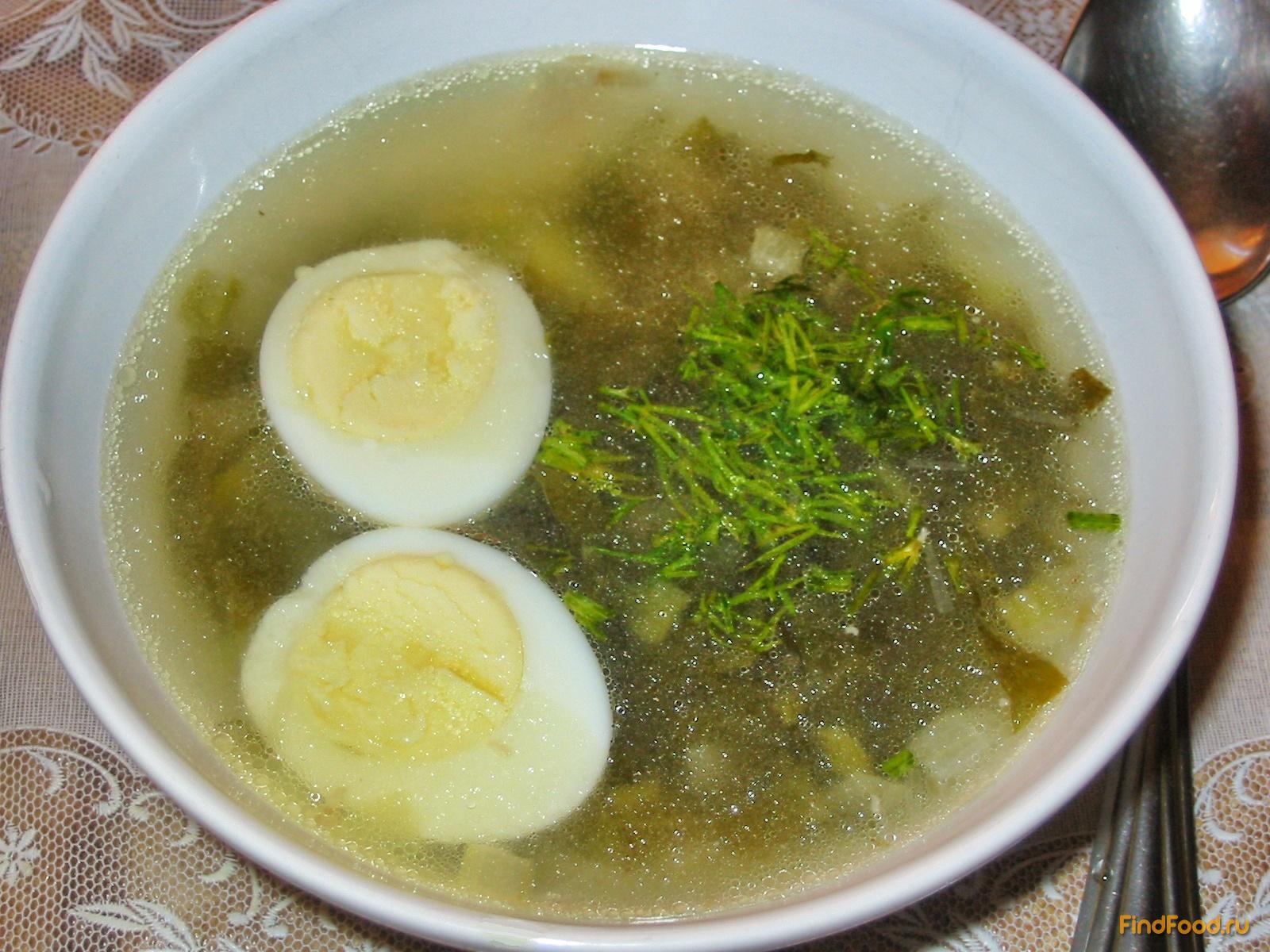 Углеводы в щавелевом супе