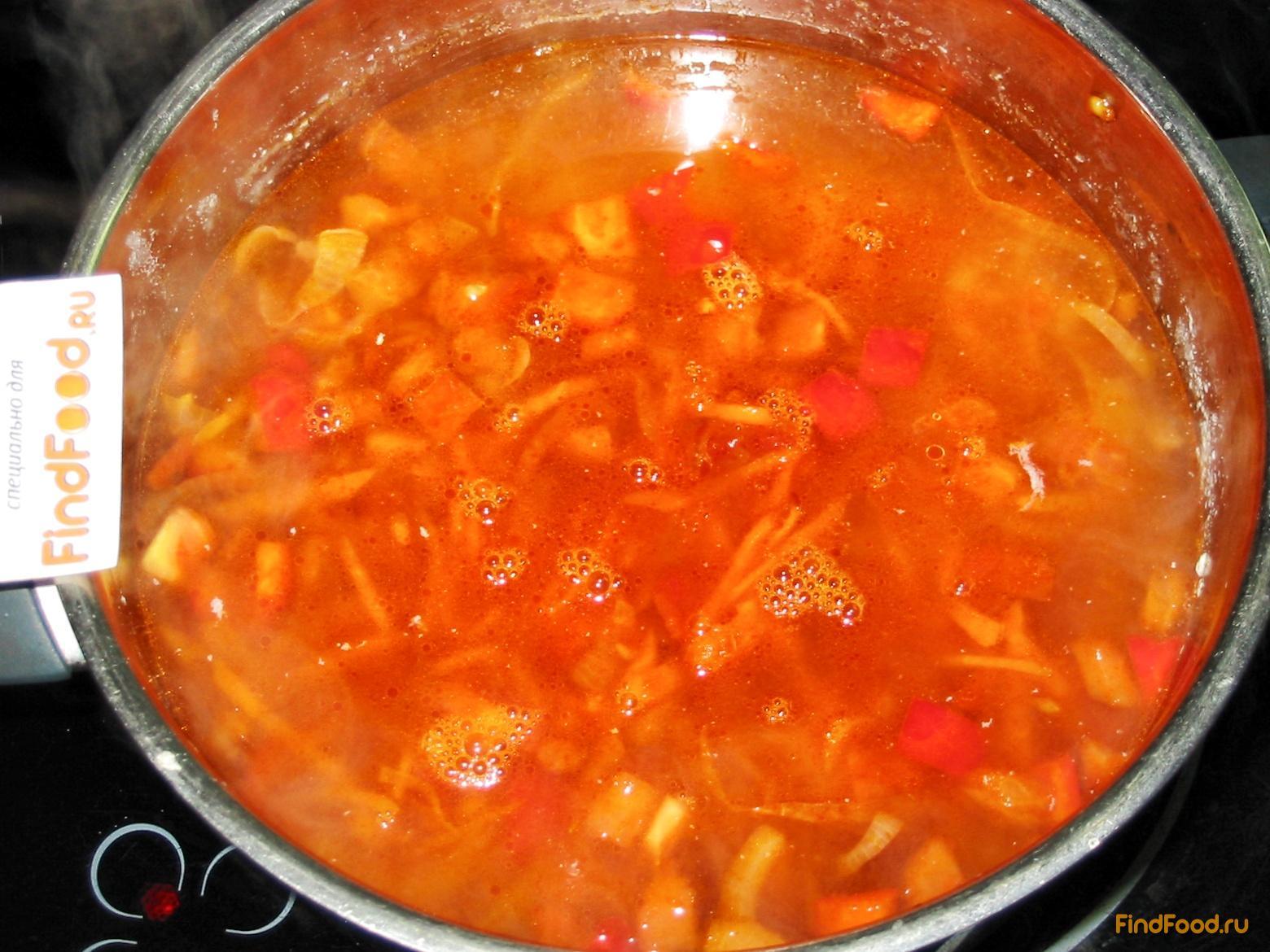 суп капуста краснокочанная рецепты