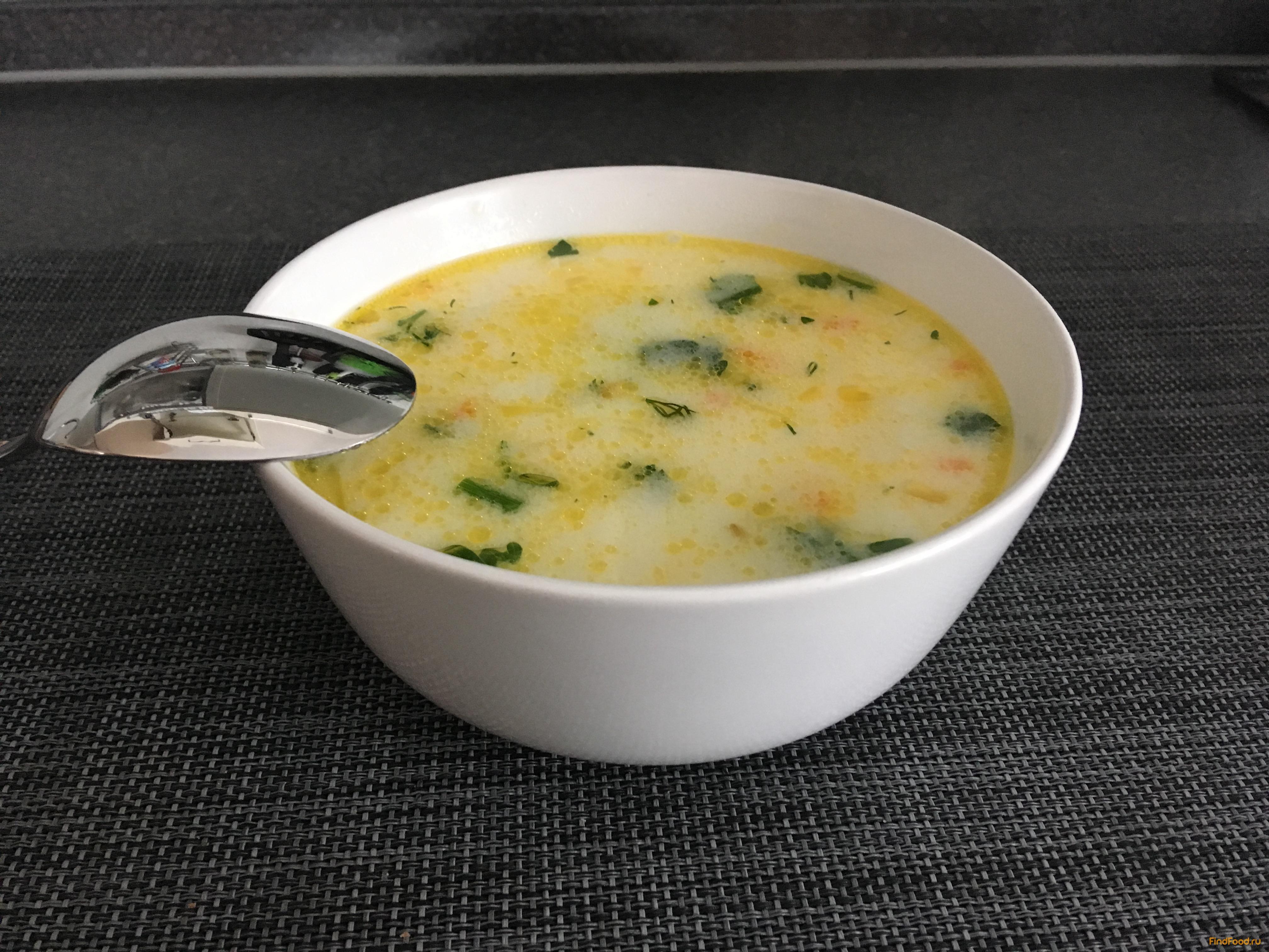 куриный суп с плавленным сыром рецепт