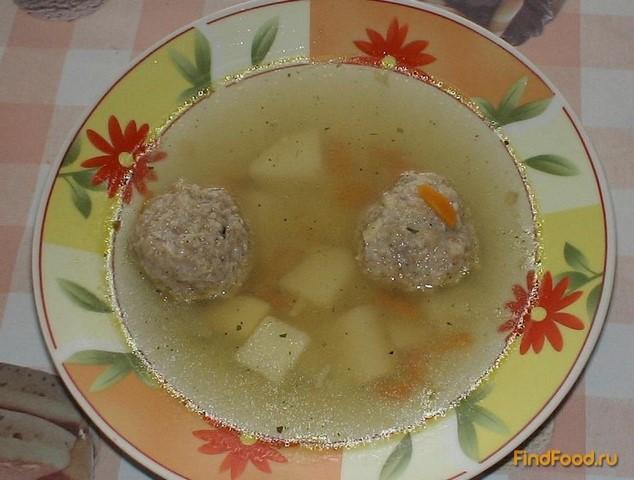 Суп с фрикадельками без зажарки пошаговый рецепт с