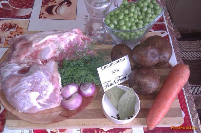 рецепт супа со свежим зеленым горошком рецепт