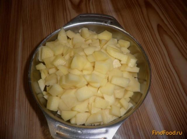 Картофельный суп с фрикадельками рецепт с фото 6-го шага