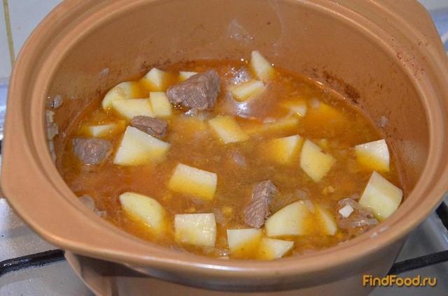Венгерский суп гуляш в мультиварке рецепт с фото