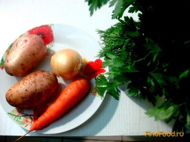 рецепт украинского супа с галушками