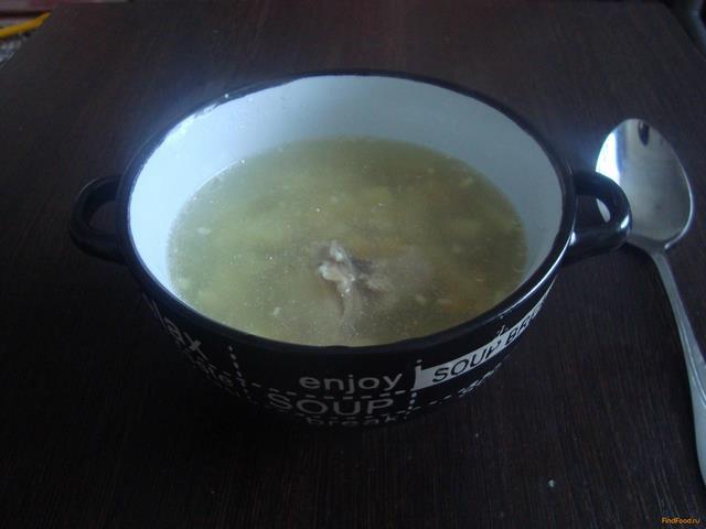 Рецепт Куриный супчик с зеленым горошком рецепт с фото