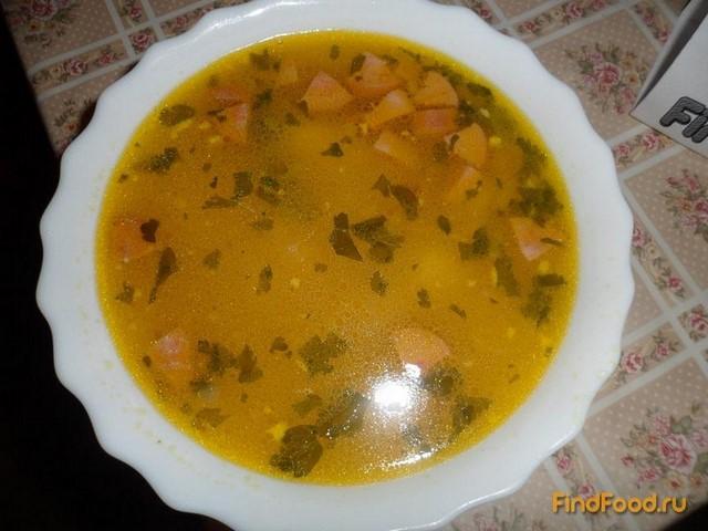 рецепт приготовления суп с колбасой