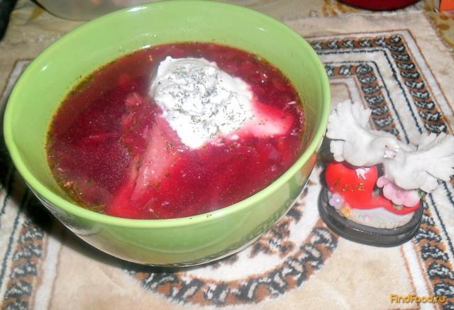 борщ пекинской капустой рецепт