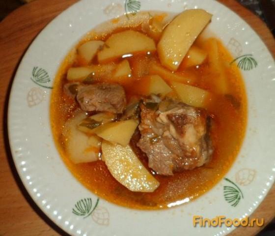 Ребра говяжьи в духовке с картошкой - пошаговый рецепт с фото на ... | 480x560