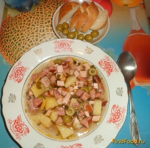 Рецепт супа с плавленным сыром пошагово