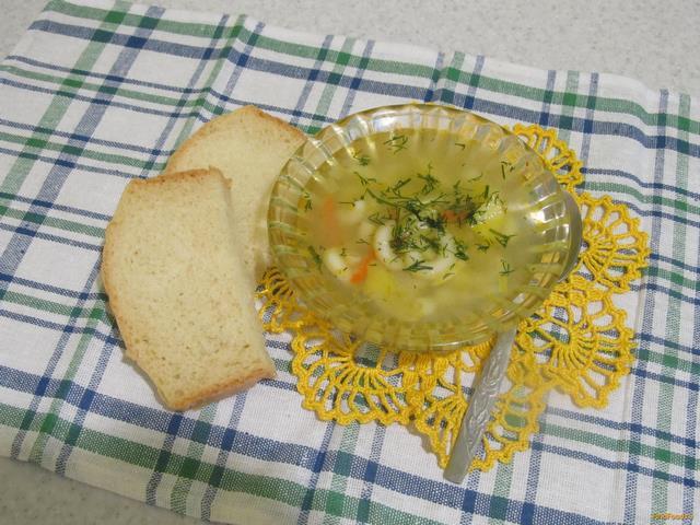суп с рожками рецепт с фото