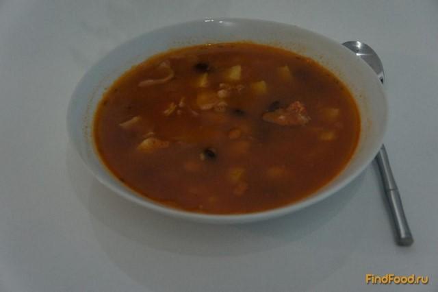 суп с красной фасолью рецепт борща