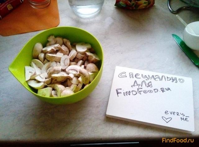 рецепт грибного супа пюре постный