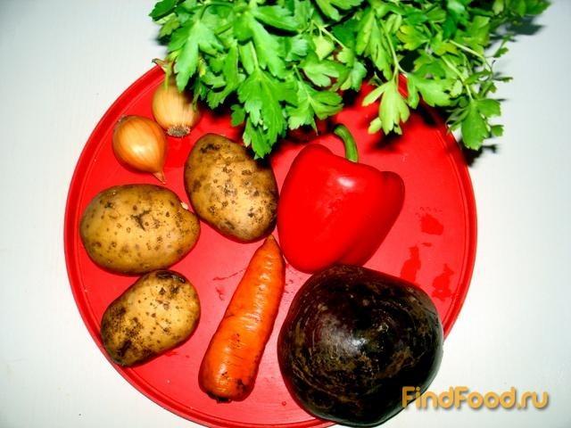 классический борщ без капусты рецепт с фото