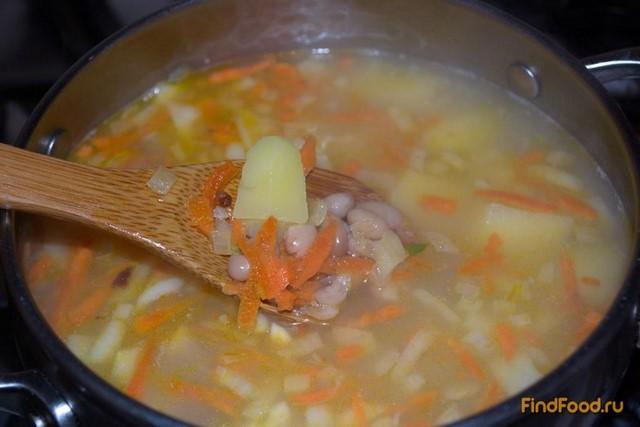 рецепт супа с фасолью из банки рецепт