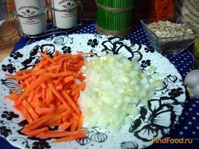 Суп из овсяных хлопьев и сыра рецепт с фото 4-го шага