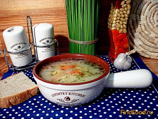 Суп из овсяных хлопьев и сыра рецепт с фото 5-го шага