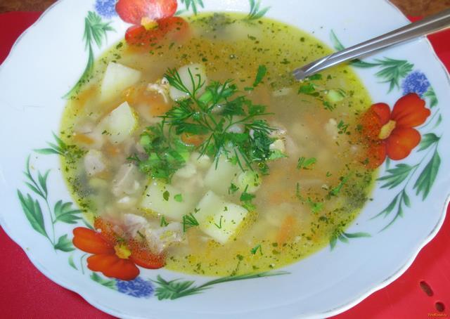 Рецепт Гороховый суп на свиных ребрышках рецепт с фото