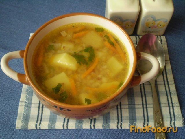 Рецепт Постный гречневый суп с тыквой рецепт с фото