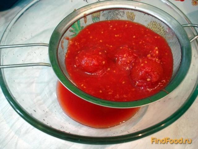 Суп томатный из свежих помидор фото