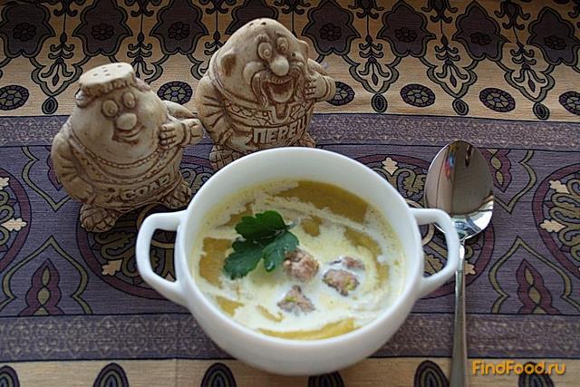 Рецепт Крем суп из брюссельской капусты брокколи с фрикадельками рецепт с фото