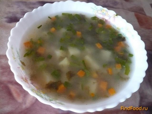 Рецепт Вегетарианский суп с нори рецепт с фото