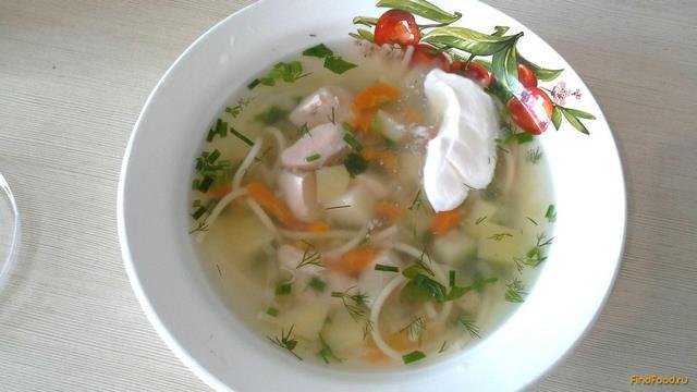 Куриный суп в скороварке рецепт с фото