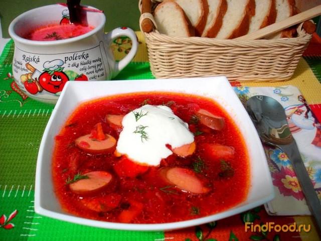 Рецепт Борщ по-львовски рецепт с фото